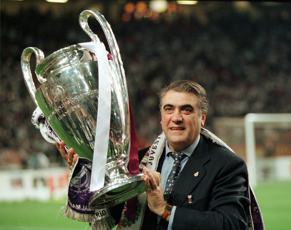 gettyimages 541809391 - Ex-presidente do Real Madrid, Lorenzo Sanz morre aos 76 anos vítima do coronavírus