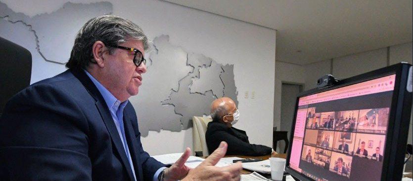 joao azevedo e1585080936852 - Governador João Azevêdo faz live nesta segunda-feira para falar das ações contra o coronavírus na Paraíba