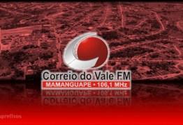 Transmissor da Rádio Correio do Vale é roubado na madrugada desta sexta-feira