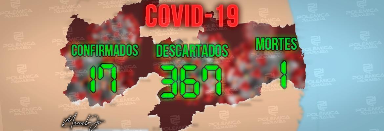 placar corona pb 1 - URGENTE: Paraíba registra primeiro óbito confirmado por Coronavírus