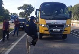 PRF realiza a Operação Volta às Aulas 2020 em toda a Paraíba