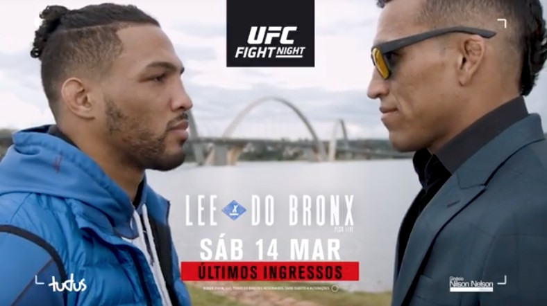 ufc brasilia - UFC Brasília fecha portões por causa do coronavírus