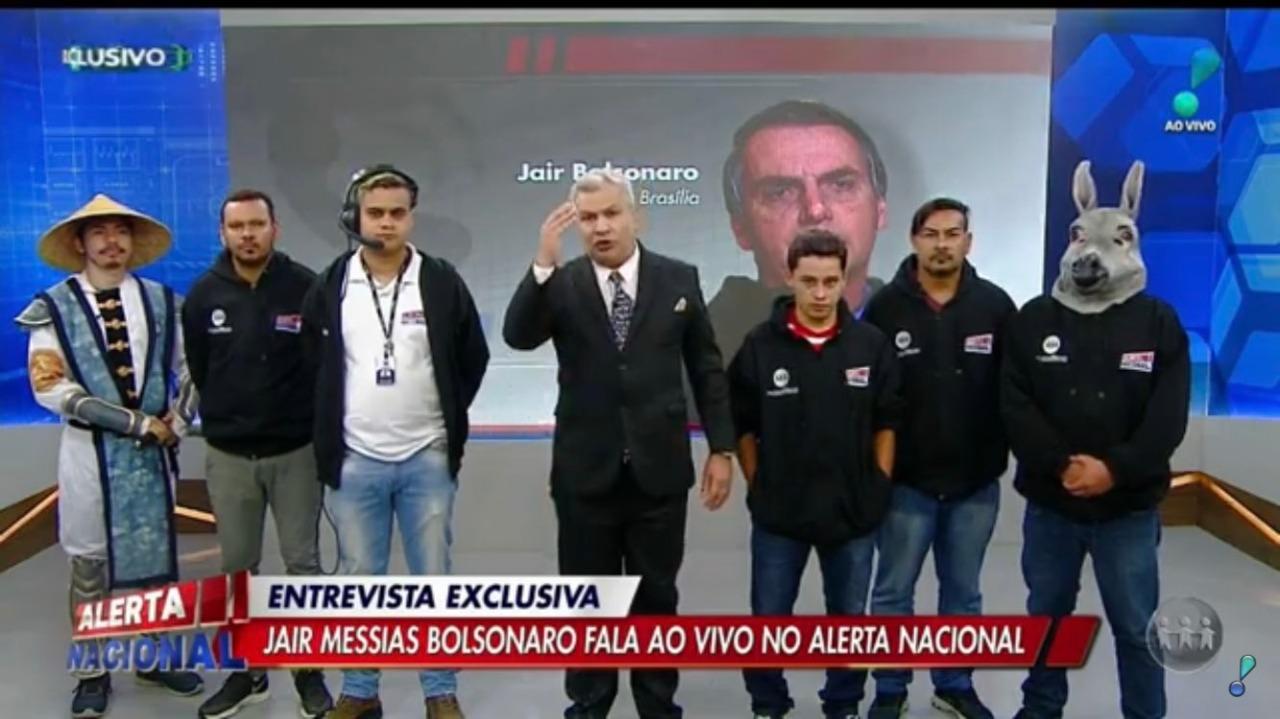 Sikêra reproduz FAKE NEWS da morte do borracheiro, e Bolsonaro endosa a notícia: 'Há interesse por parte de alguns governadores'