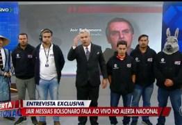 Sikêra reproduz FAKE NEWS da morte do borracheiro, e Bolsonaro endosa a notícia: 'Há interesse por parte de alguns governadores' – VEJA VÍDEO