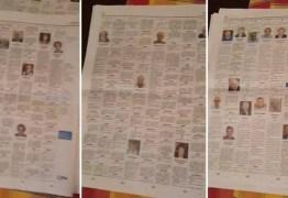 Jornal publica dez páginas com obituários de vítimas do coronavírus na Itália – VEJA VÍDEO