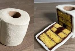 Obsessão em tempos de coronavírus, papel higiênico vira torta