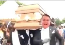 Presidente da Embratur posta 'meme do caixão' com rosto de Bolsonaro