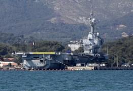PANDEMIA: Mais de 900 marinheiros em porta-aviões francês estão infectados
