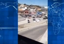 Vídeo mostra pânico de clientes em tiroteio na frente de mercado