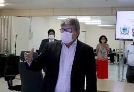 Governador confirma reunião para definir reabertura gradual do comércio e uso obrigatório de máscaras na PB