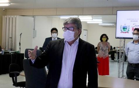 9a0012b7 bb65 400b b7d3 3c1bb7cfd268 - Governador confirma reunião para definir reabertura gradual do comércio e uso obrigatório de máscaras na PB