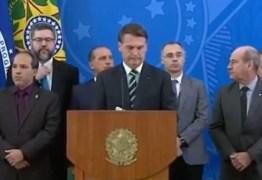 Presidente diz que Moro pediu indicação ao STF