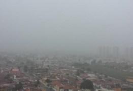 Inmet emite alerta para chuvas em perigo potencial em 131 municípios da Paraíba