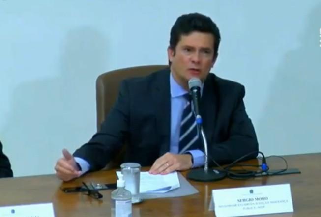 CapturarH 3 - JUIZ DA LAVA JATO: Ministro da Justiça, Sérgio Moro, anuncia saída do governo Bolsonaro - VEJA VÍDEO