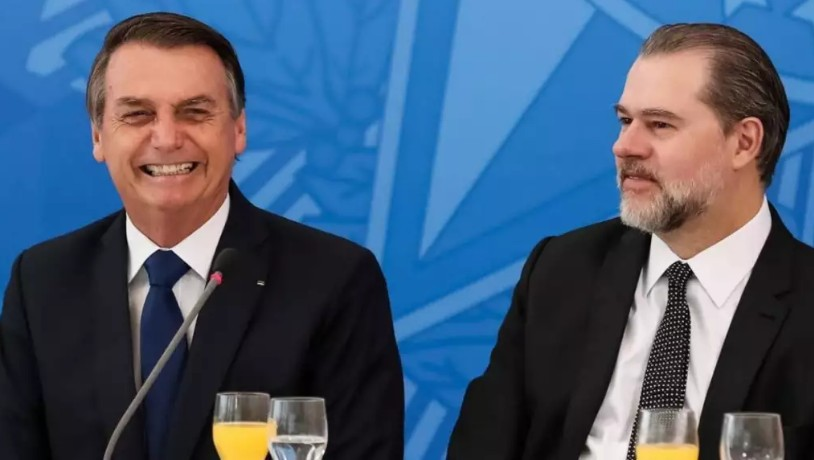 CapturarJ 5 - Buscando harmonia com STF, Bolsonaro envia mensagem à Toffoli - LEIA NA ÍNTEGRA