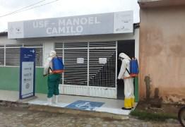 Prefeito de São José de Piranhas põe Vigilância Sanitária para higienização das ruas