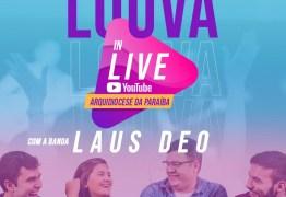 LOUVOR E ADORAÇÃO: Arquidiocese da Paraíba realiza live com a banda Laus Deo nesta segunda (13)