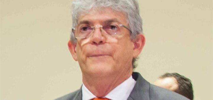 Ricardo Coutinho com a boca murcha 720x340 1 - Jovem preso suspeito de ameaçar ex-governador Ricardo Coutinho possui empresa de confecções em Pernambuco