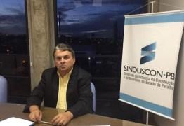 Presidente do Sinduscon-PB nega participação em nota de repúdio ao Governo da PB – VEJA NOTA