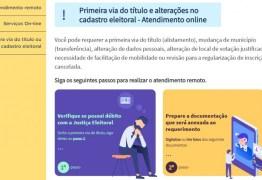 TSE lança site para regularização de título de eleitor