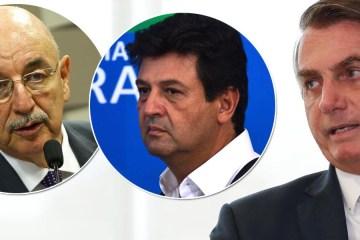 TRIO . - Ministros militares impedem Bolsonaro de demitir Mandetta, por enquanto - ENTENDA