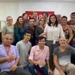 WhatsApp Image 2020 04 03 at 21.17.38 - ÚLTIMO ENCONTRO: Sony Lacerda publica foto com colegas da redação do Correio da Paraíba e relata sentimento pelo fim do jornal