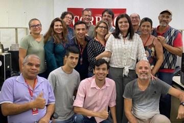 ÚLTIMO ENCONTRO: Sony Lacerda publica foto com colegas da redação do Correio da Paraíba e relata sentimento pelo fim do jornal