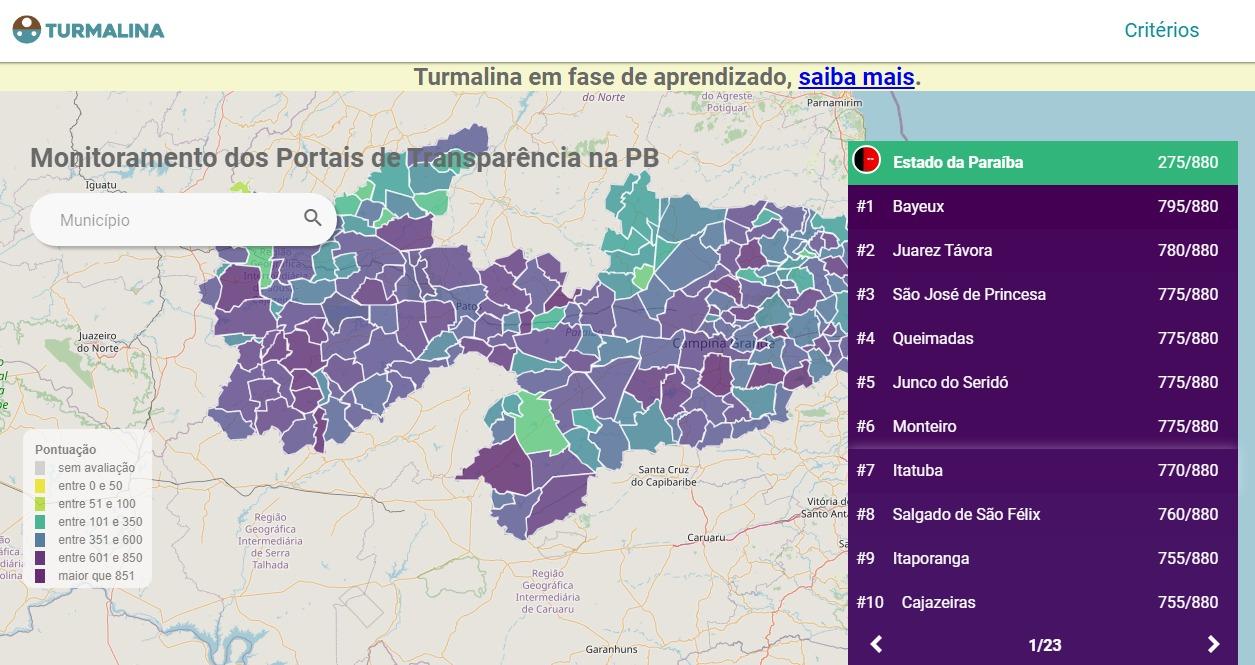 WhatsApp Image 2020 04 17 at 18.56.01 - DADOS DO TCE: Bayeux lidera ranking das cidades mais transparentes da Paraíba