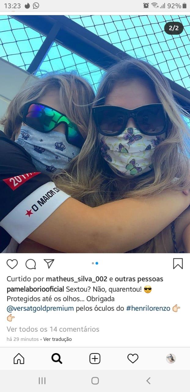 WhatsApp Image 2020 04 25 at 12.30.41 - POLÍCIA FEDERAL PROCURA: Pâmela Bório desaparece com o filho e Advogada de Ricardo pede bloqueio nos aeroportos