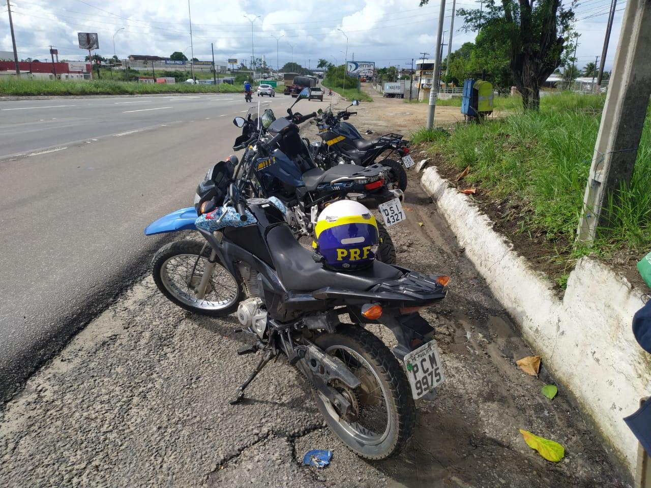 WhatsApp Image 2020 04 30 at 14.47.03 - PRF na Paraíba recupera moto roubada em João Pessoa há um ano