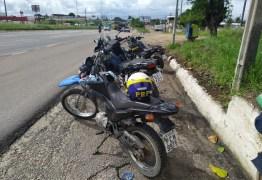 PRF na Paraíba recupera moto roubada em João Pessoa há um ano