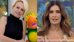 ana maria e fatima bernardes 1 300x169 - Fátima Bernardes volta ao ar segunda-feira, sem plateia e com lives