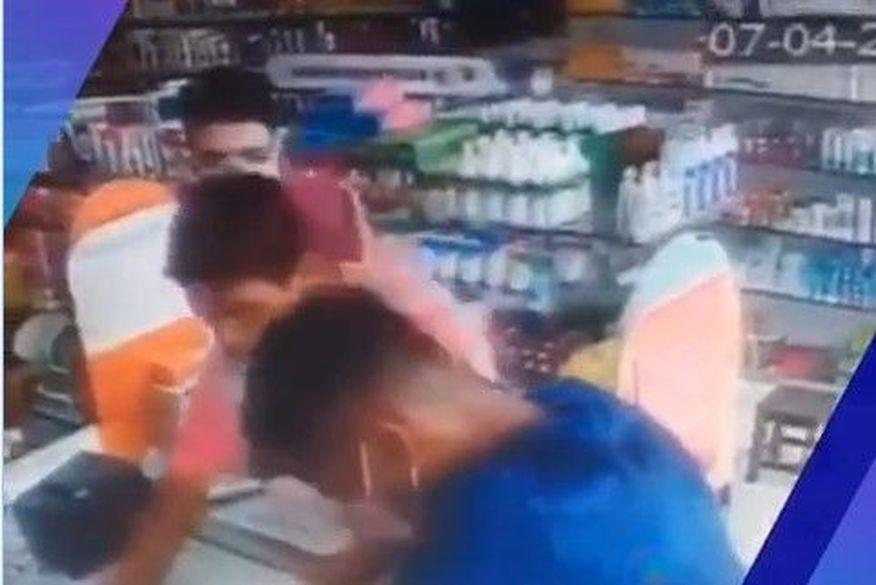 assalto farmacia - Bandidos assaltam farmácia e levam álcool em gel, em Campina Grande