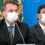 bolsonaro mandetta - Ministério da saúde libera médicos a receitarem cloroquina a pacientes, diz Mandetta