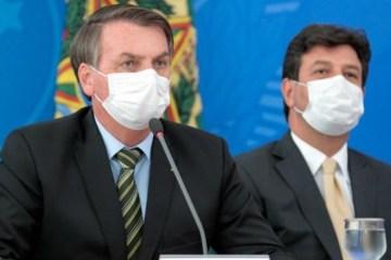 "bolsonaro mandetta - Bolsonaro insinua ""fritura"" de Mandetta mas receia demiti-lo na crise"
