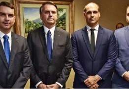 Jair Bolsonaro teme que seus filhos sejam presos pelo STF