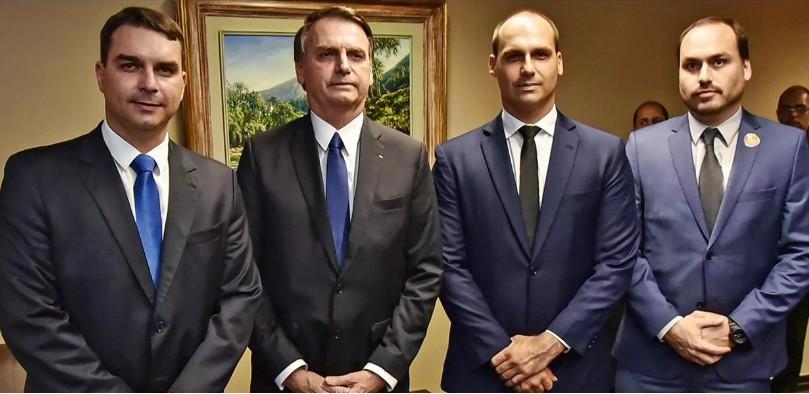 bolsossss - Jair Bolsonaro teme que seus filhos sejam presos pelo STF