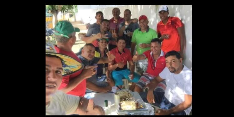 cuite de mamanguape 750x374 1 - Prefeito quebra a quarentena e comemora aniversário de secretário adjunto em grande aglomeração