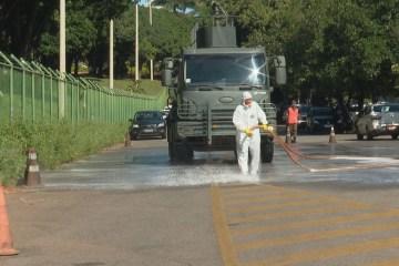 desinfeccao hran 00018 frame 30 - Exército realizará ação de desinfecção contra coronavírus na rodoviária de João Pessoa