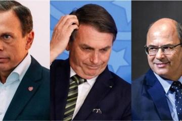 WITZEL E DÓRIA: Mais da metade da população de RJ e SP aprova atuação de governadores contra o Coronavírus