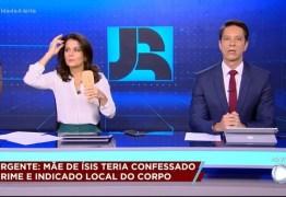 Luiz Bacci se assusta durante encerramento de programa, após vazar bastidores do Jornal da Record – VEJA VÍDEO