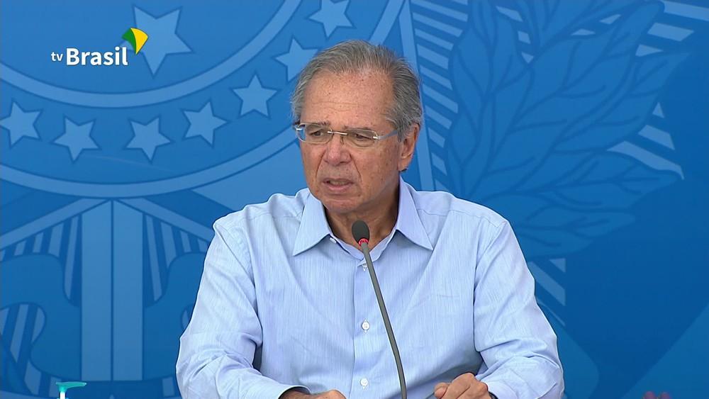 frame 00 04 39.975 - Paulo Guedes diz que preservar economia não significa 'sair do isolamento agora'