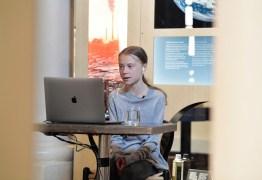 Greta Thunberg defende combate simultâneo ao coronavírus e à crise climática