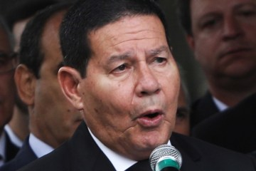 hamilton mourao - Mourão sinaliza reforma ministerial com troca no Itamaraty