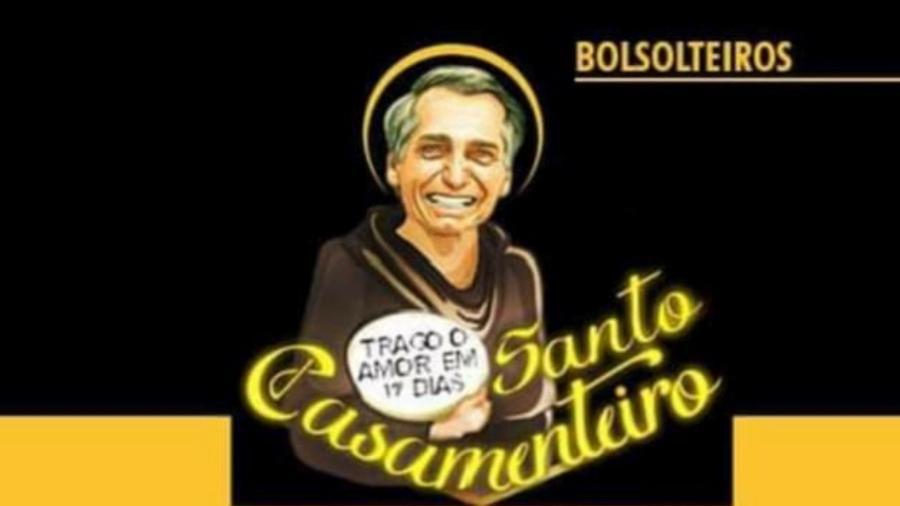 ilustracao da pagina inicial do grupo bolsolteiros no facebook 1587931948547 v2 900x506 - SÓ DEUS NA CAUSA: 'Não defendo mais Bolsonaro, só rezo', diz criadora do grupo 'Bolsolteiros'