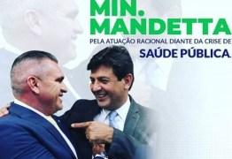 """Julian Lemos reforça apoio ao trabalho de Mandetta e profetiza: """"Em tempos difíceis nascem líderes"""""""