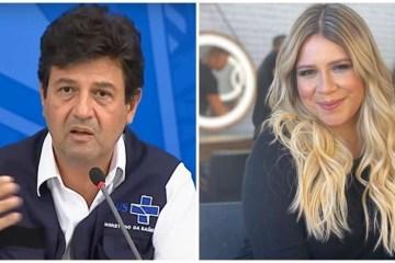 mandetta e marilia 850x491 2 - Ministro Mandetta recomenda live de Marília Mendonça e manda recado: 'Ficamos mais fãs'