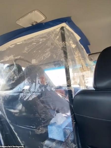 Bolha improvisada em táxis e Uber reduz riscos de contágio pelo coronavírus