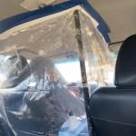 motorista lyft nova york eua bolha improvisada coronavirus pandemia 1585780269246 v2 450x600 - Bolha improvisada em táxis e Uber reduz riscos de contágio pelo coronavírus - VEJA VÍDEO
