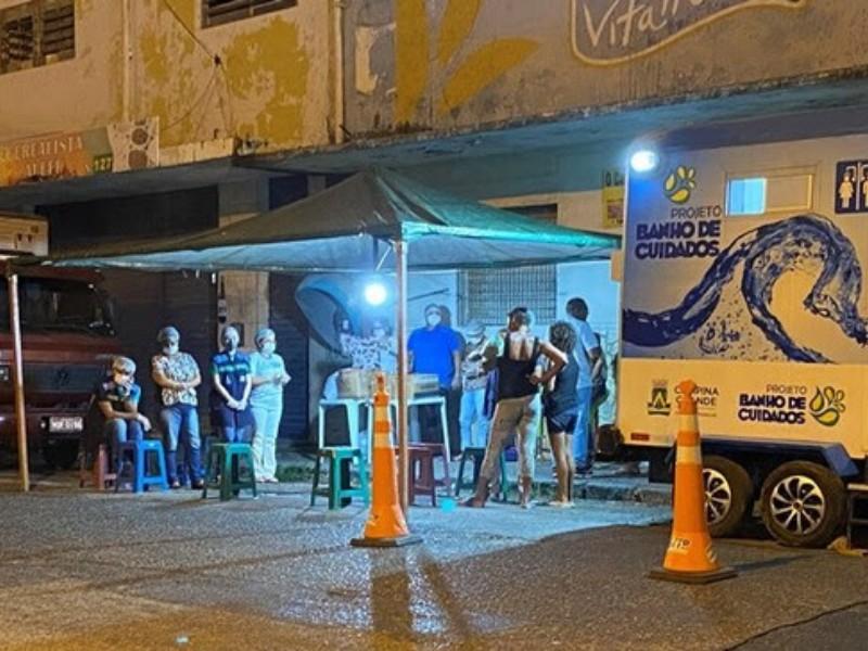 pmcg alimentos codecomcg - Prefeitura de Campina Grande distribui mais de 1.100 refeições para população em situação de vulnerabilidade